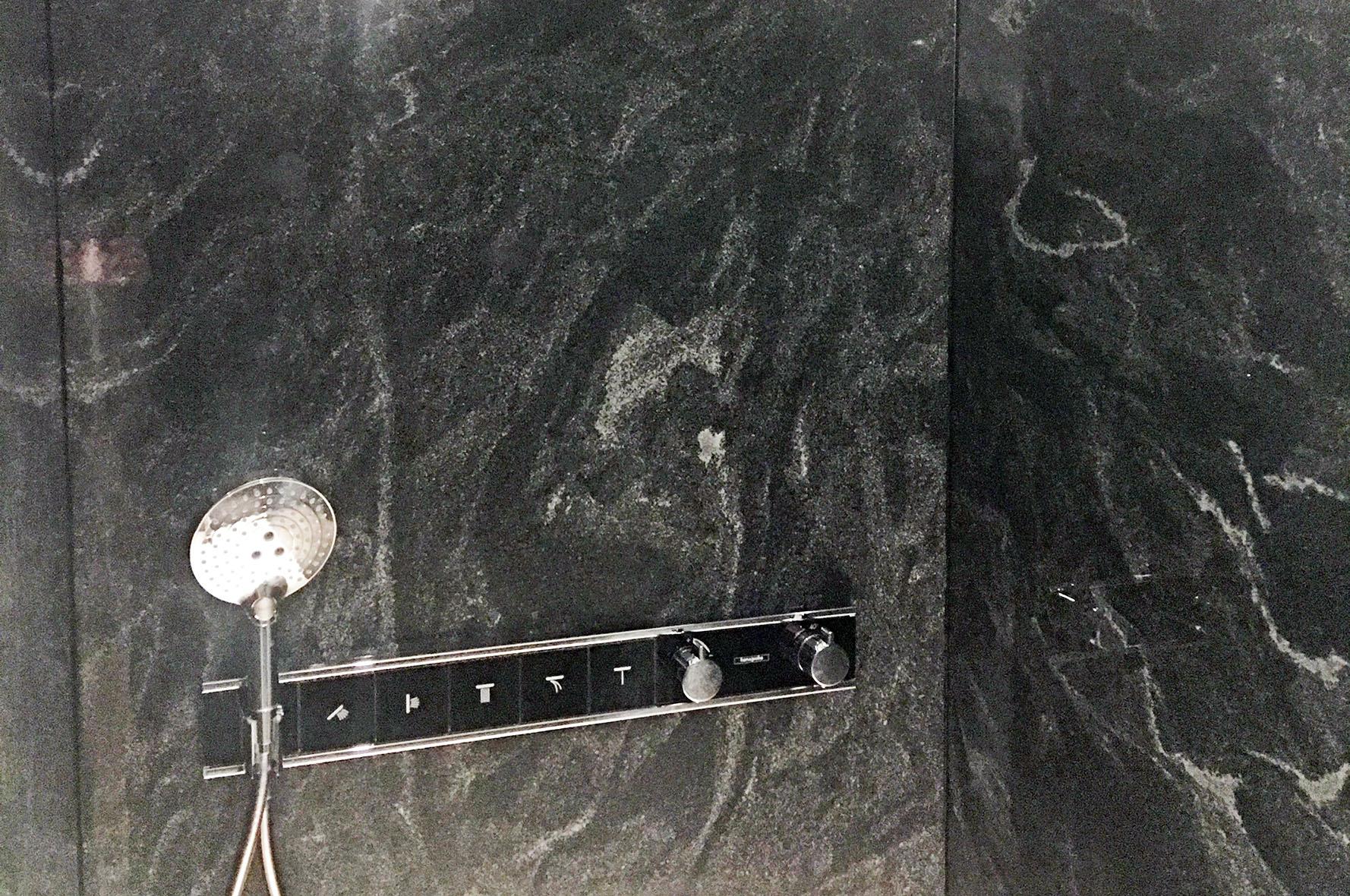 Dusche Granit