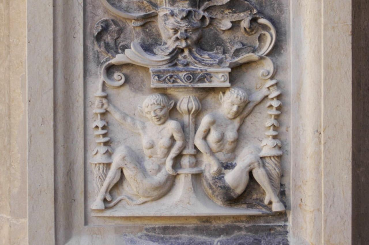 Schloss Dresden Bildhauervierungen